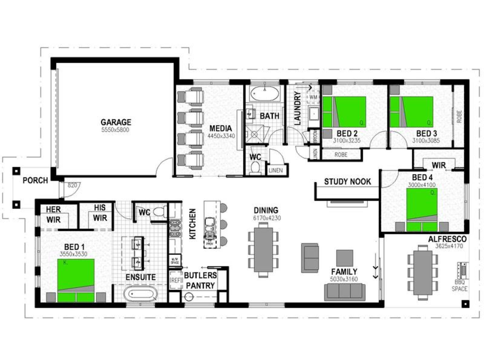 LOT 401 'SOVEREIGN POCKET' DEEBING HEIGHTS Floorplan