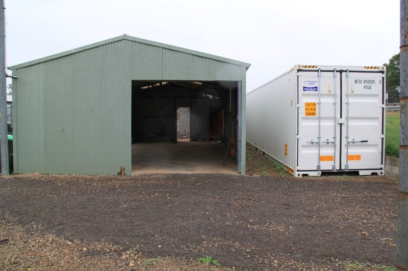 Excellent Storage or Workshop Opportunity!