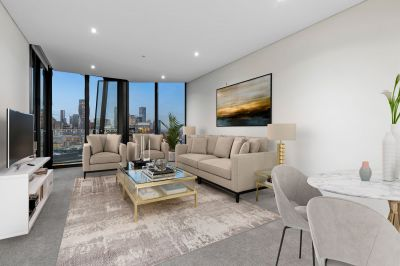 Lavish Yarra's Edge living matched by superb city views