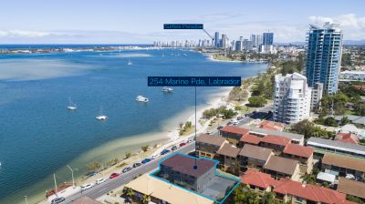 Buy, Hold & Develop - Waterfront Development Site with Never to be Built out Broadwater Views