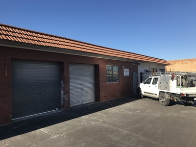 Warehouse unit 93 sqm INCLUDES OUTGOINGS