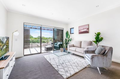 Large, North Facing Gem in Low Rise Oasis, Short Level Walk to Station