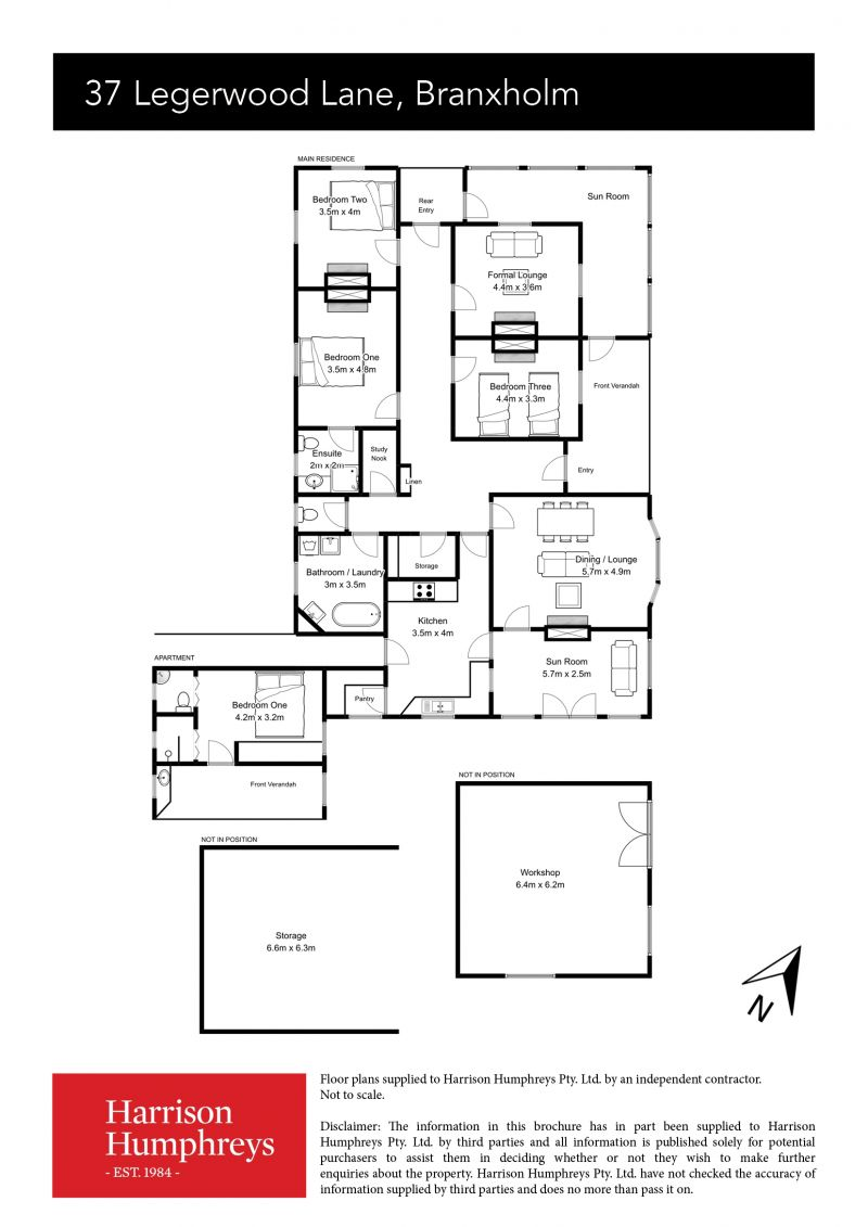 37 Legerwood Lane Floorplan