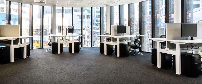 Shared office space on Lombard