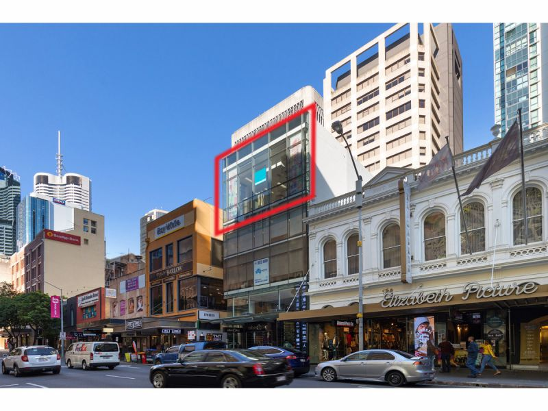 5 Metre High Ceiling Commercial Space With Huge Window Signage