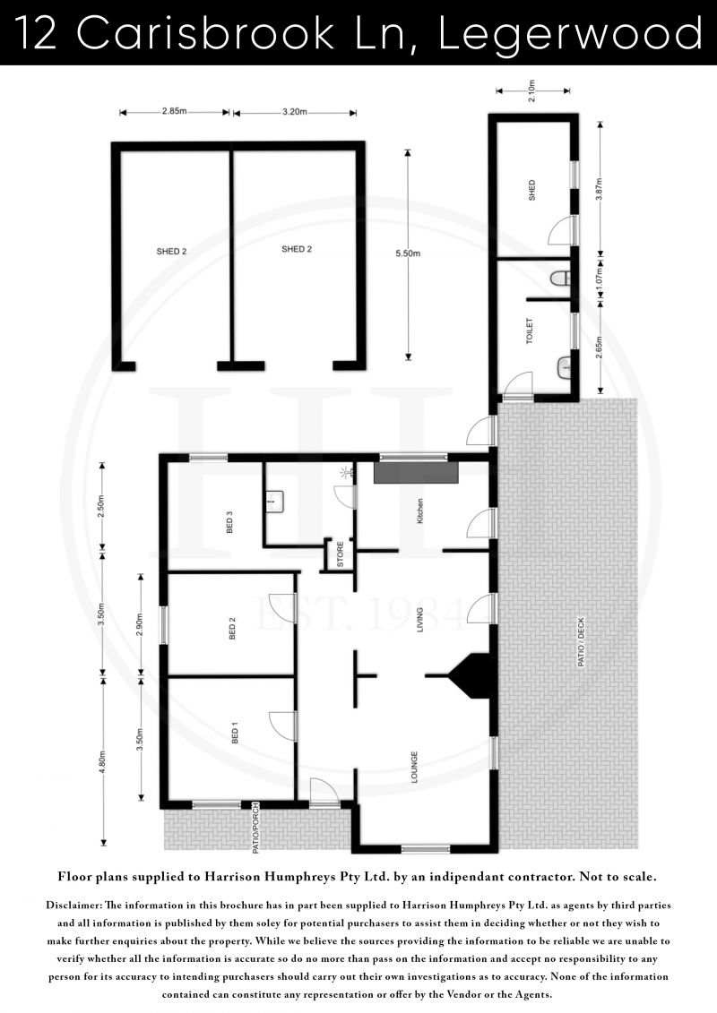 12 Carisbrook Lane Floorplan