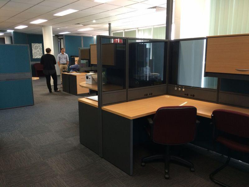 BIG, BRILLIANT OFFICE WITH EXPOSURE!!