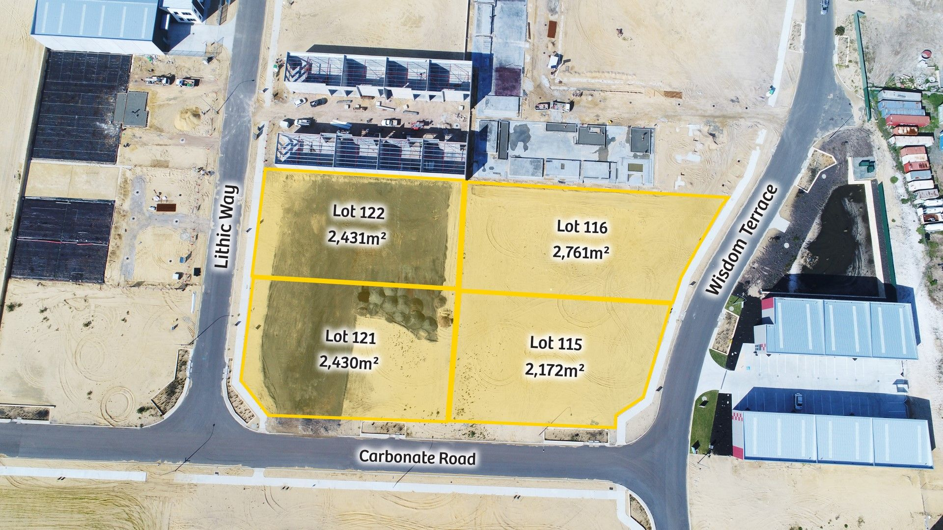 Industrial Land - Flexible Sizes Available