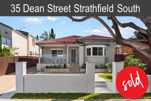 Vendor of 35 Dean St Strathfield South