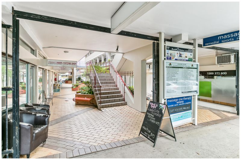 SOLD BY MICHAEL BURGIO 0430344700 |  1st FLOOR OFFICE OPPORTUNITY IN BUSY MIXED-USE ARCADE!!