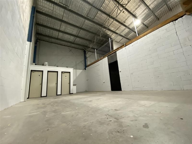 Office with Small Warehouse