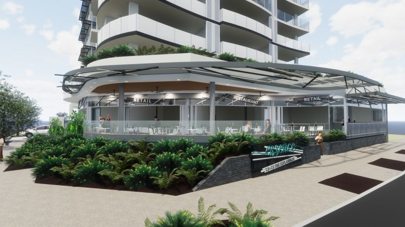 HIGH PROFILE RETAIL/RESTAURANT SPACE ON COTTON TREE WATERFRONT
