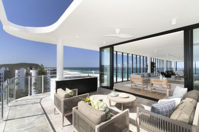 Penthouse Perfection in Brand New, Absolute Beachfront, Boutique Building
