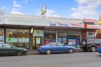 'Get your teeth into this' - Wonderful commercial site with huge residential capability! Price reduced and rental increase due in September!