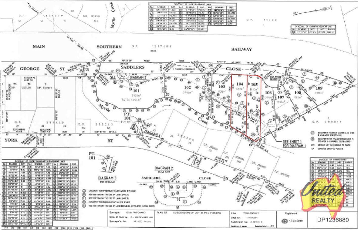 Lots 104 & 105 Saddlers Close Tahmoor 2573