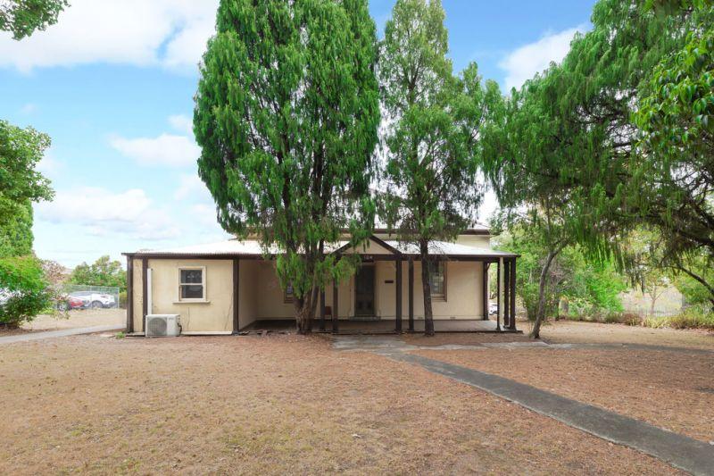A heritage listed sandstone cottage