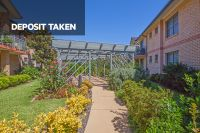 DEPOSIT TAKEN - Sought-after level access opening to garden setting