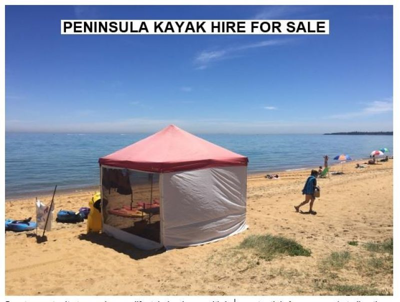 PENINSULA KAYAK HIRE - GREAT OUTDOOR BUSINESS WITH PERMITS