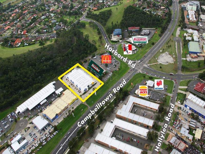Prominent Bulky Goods Location on Campbelltown Road