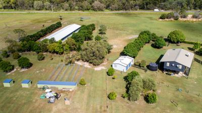 WHAT AN OPPORTUNITY! PERFECT LIFESTYLE-HOME BUSINESS ON 20 ACRES OF PEACE & PRIVACY…