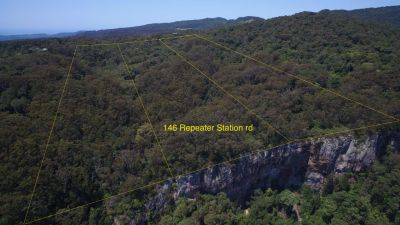 Amazing rainforest block with views over Numinbah Valley