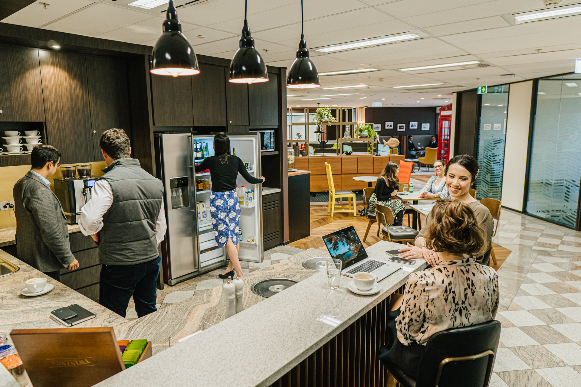 Executive 2-person private workspace with unlimited access to coworking breakout areas