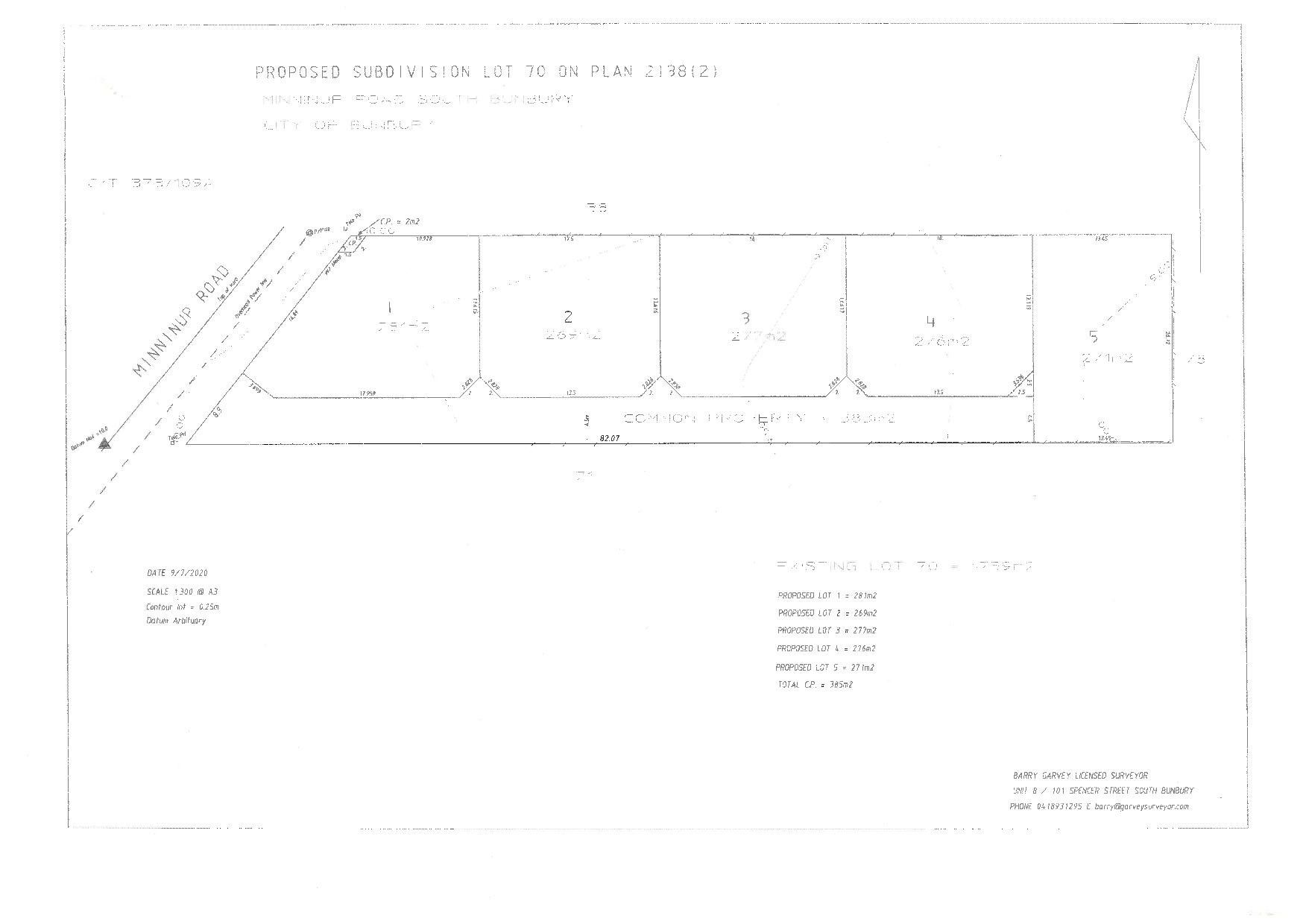 Proposed/Lot 2, 45 Minninup Road, South Bunbury