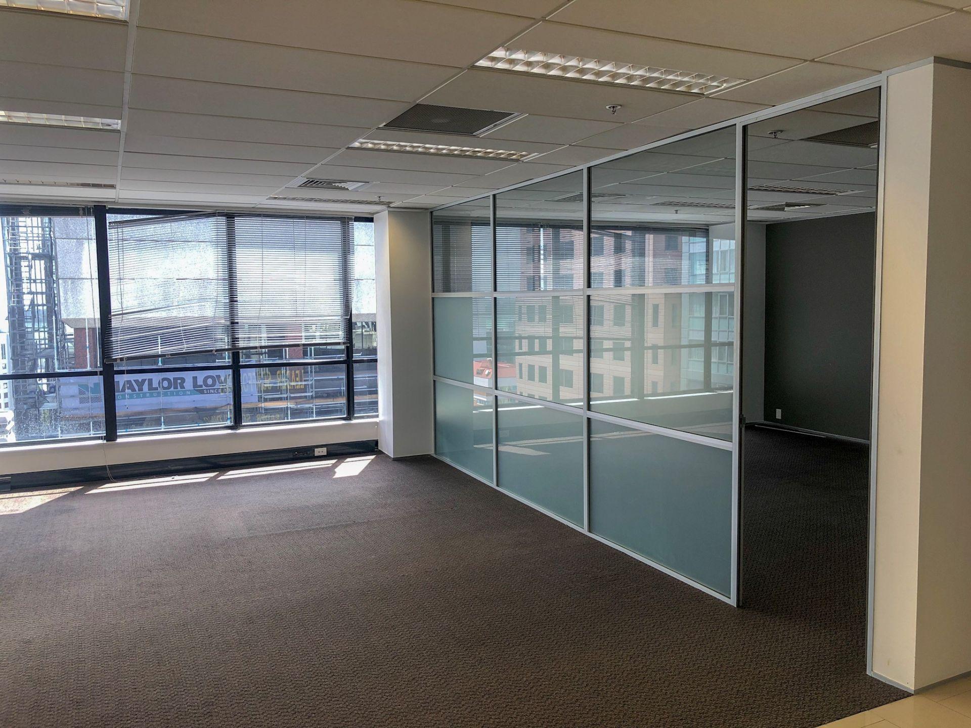 Good Outlook Open Plan Office