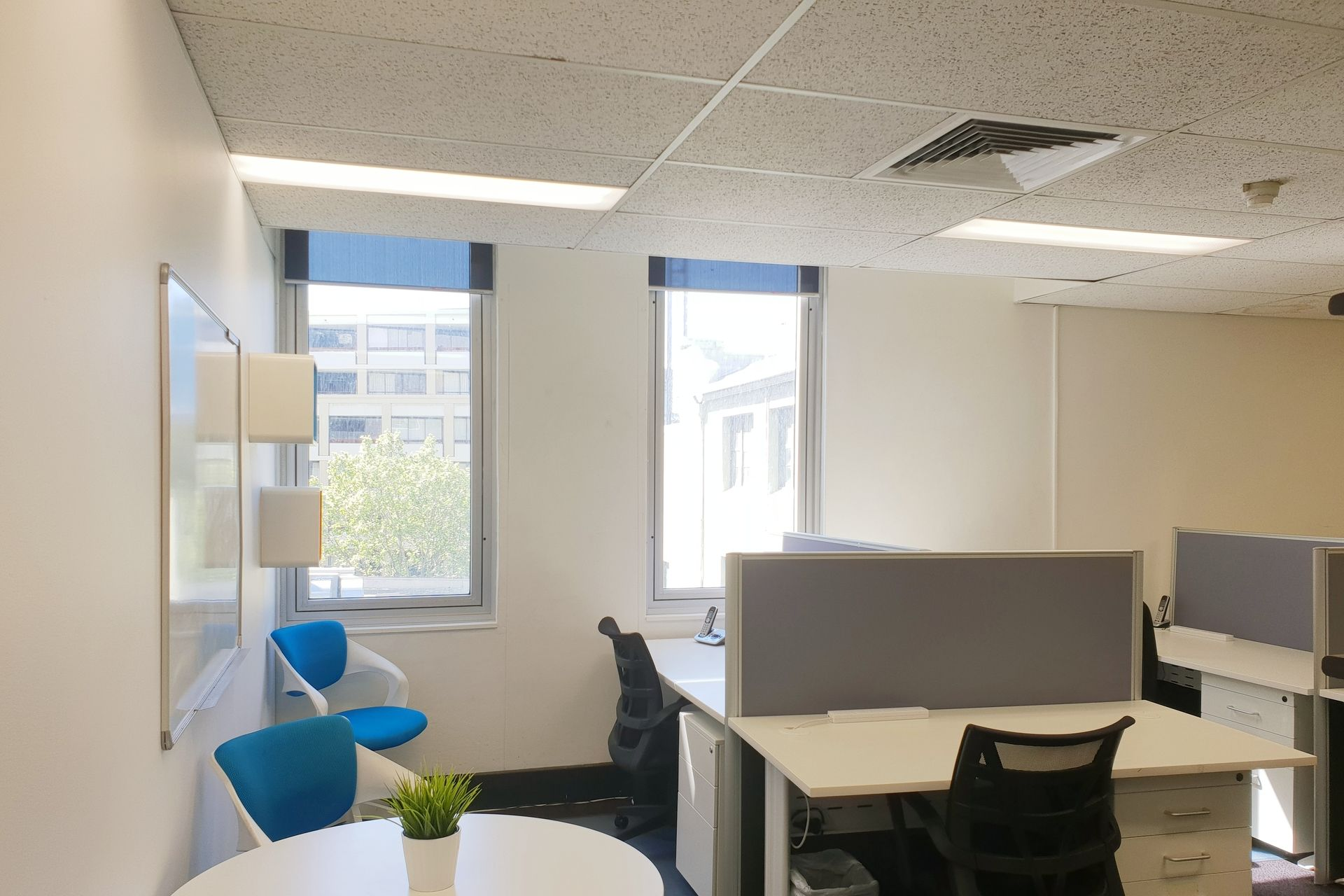 FULLY FURNISHED 7 BRIGHT OFFICE WITH 6 WORKSTATIONS - SURRY HILLS, CENTRAL STATION