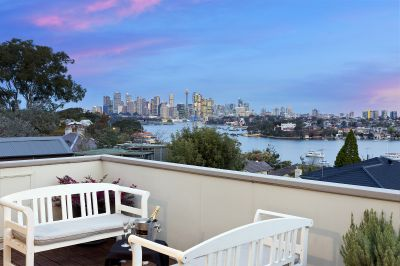 Elegance on the Point with City and Harbour Views