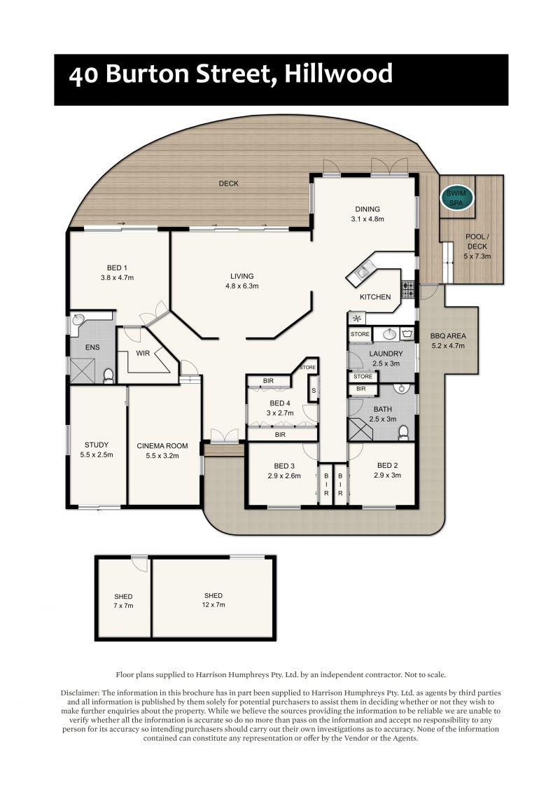 40 Burton Street Floorplan