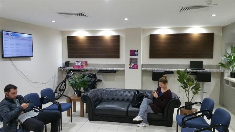 CLASS FIT OUT AND CENTRAL LOCATION