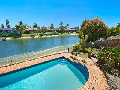 North Facing Waterfront Beauty in Excellent Condition