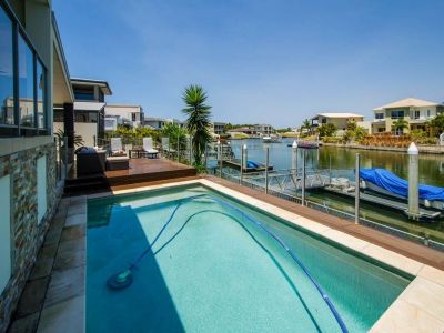 Huge Modern Waterfront with Room for All The Big Boys Toys!
