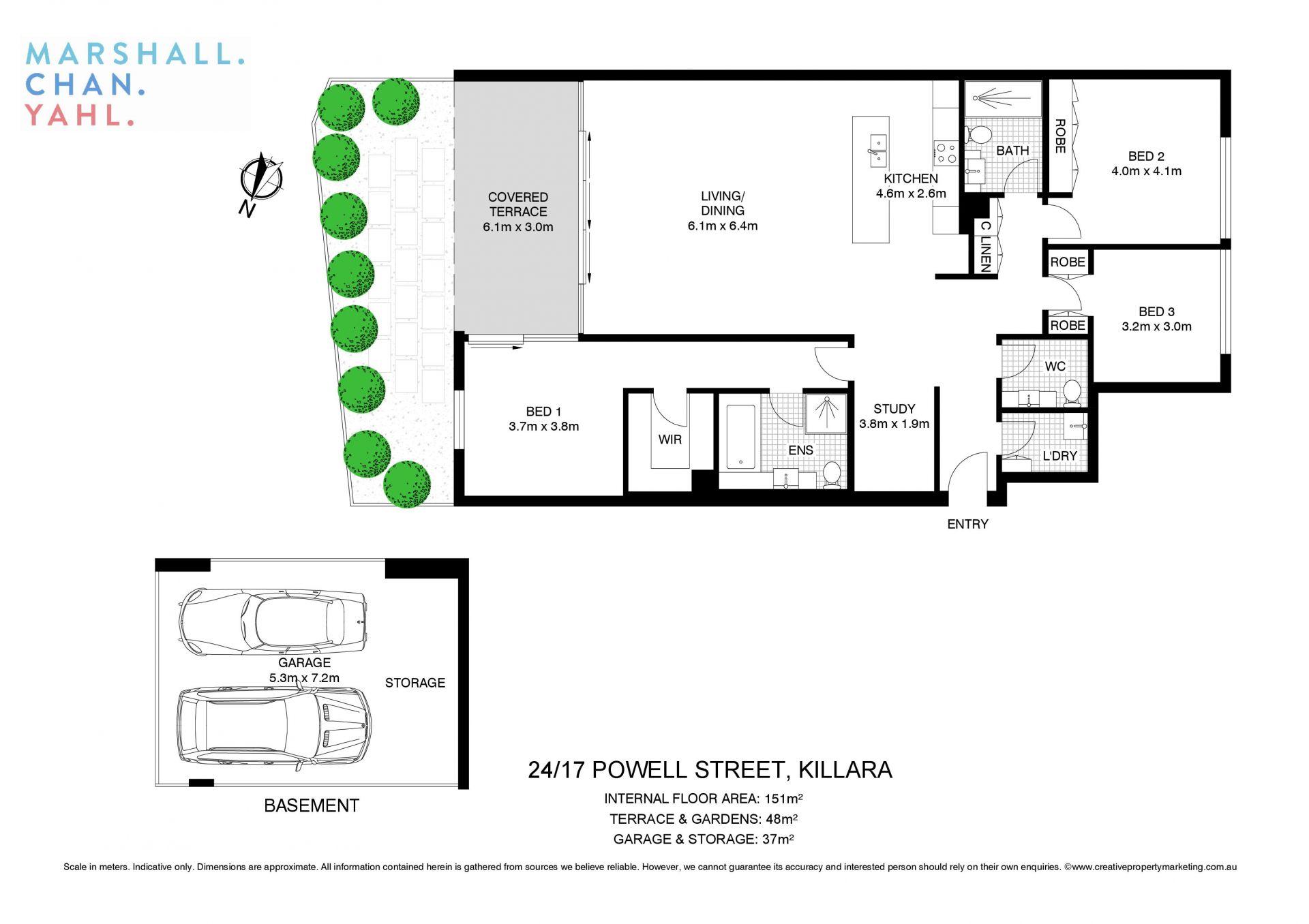 24/17 Powell Street Killara 2071