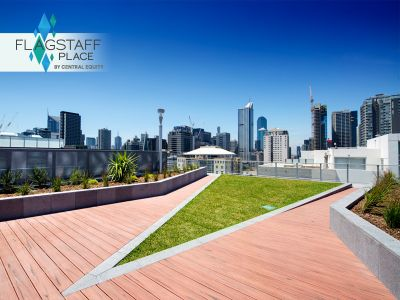 Flagstaff Place: Fantastically One Bedroom Apartment in West Melbourne!