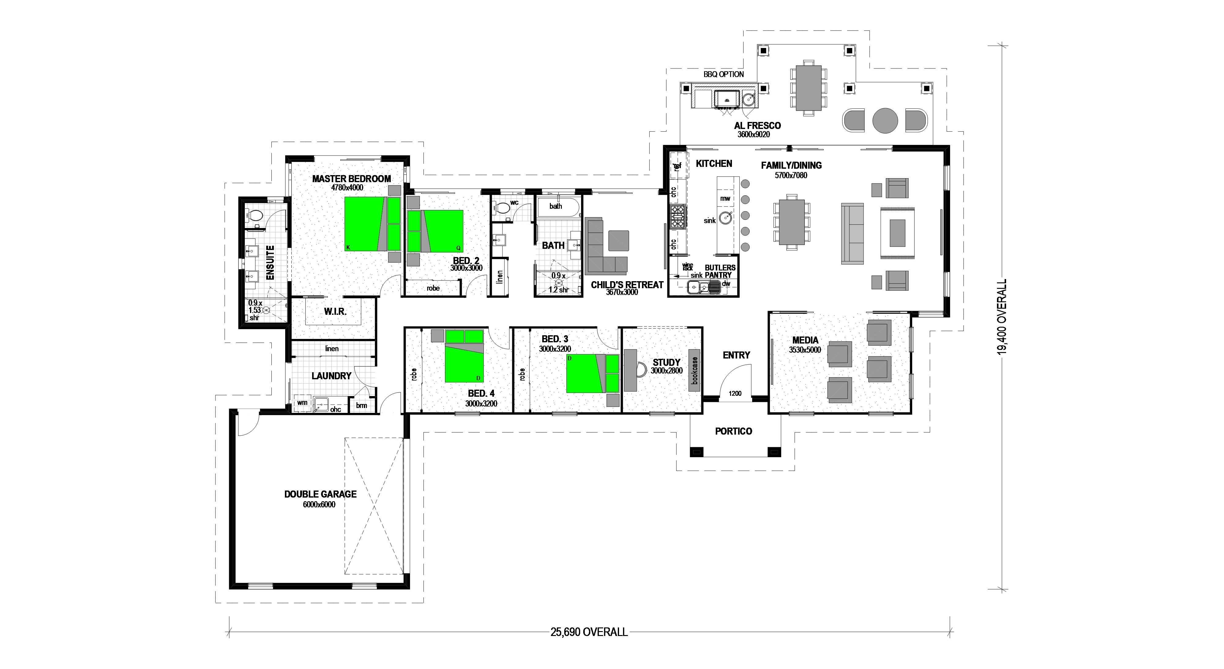 LOT 95 THE CROSSING KARALEE Floorplan