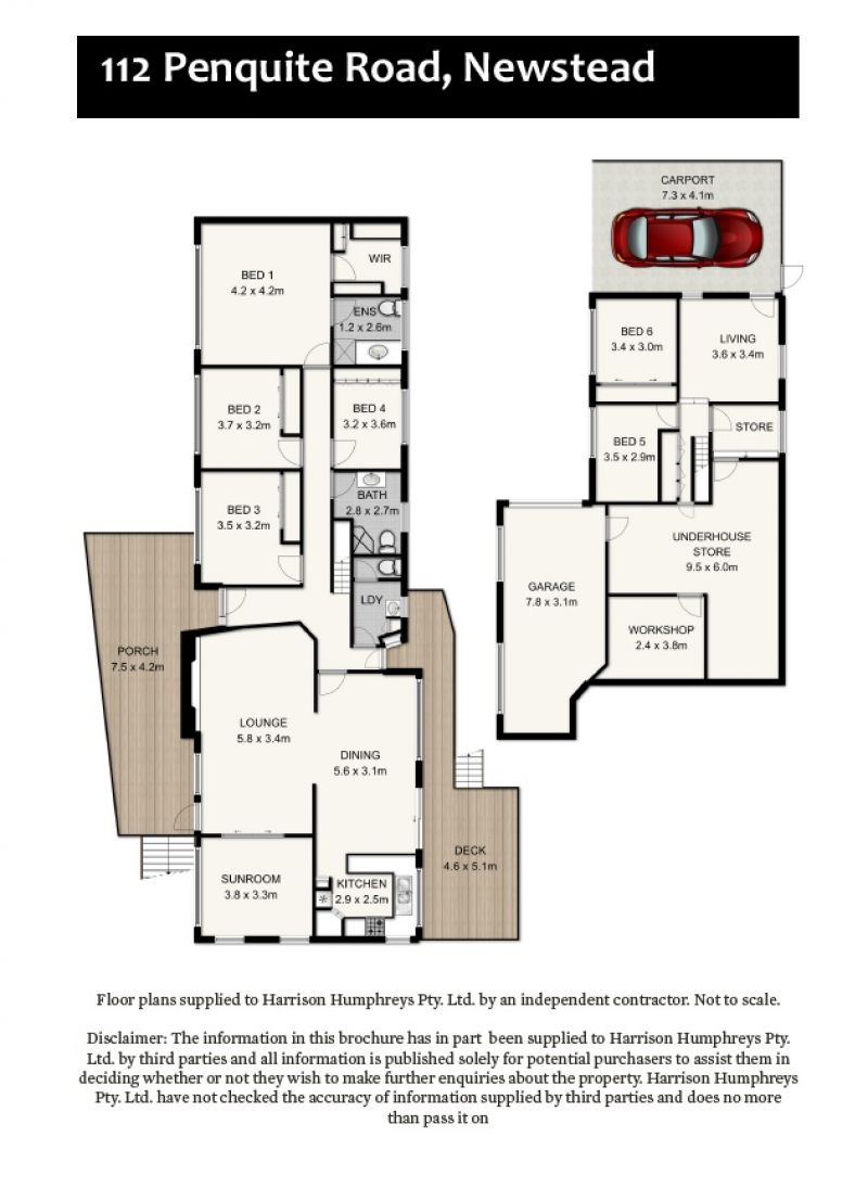112 Penquite Road Floorplan