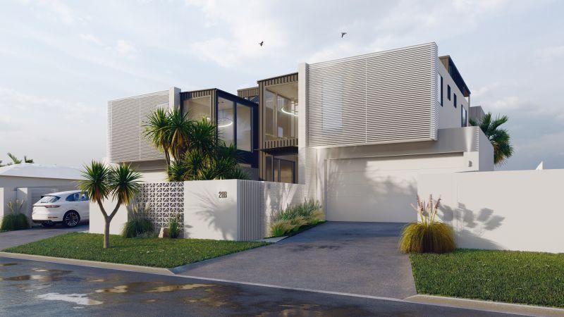 Stunning new build homes in Mermaid Waters