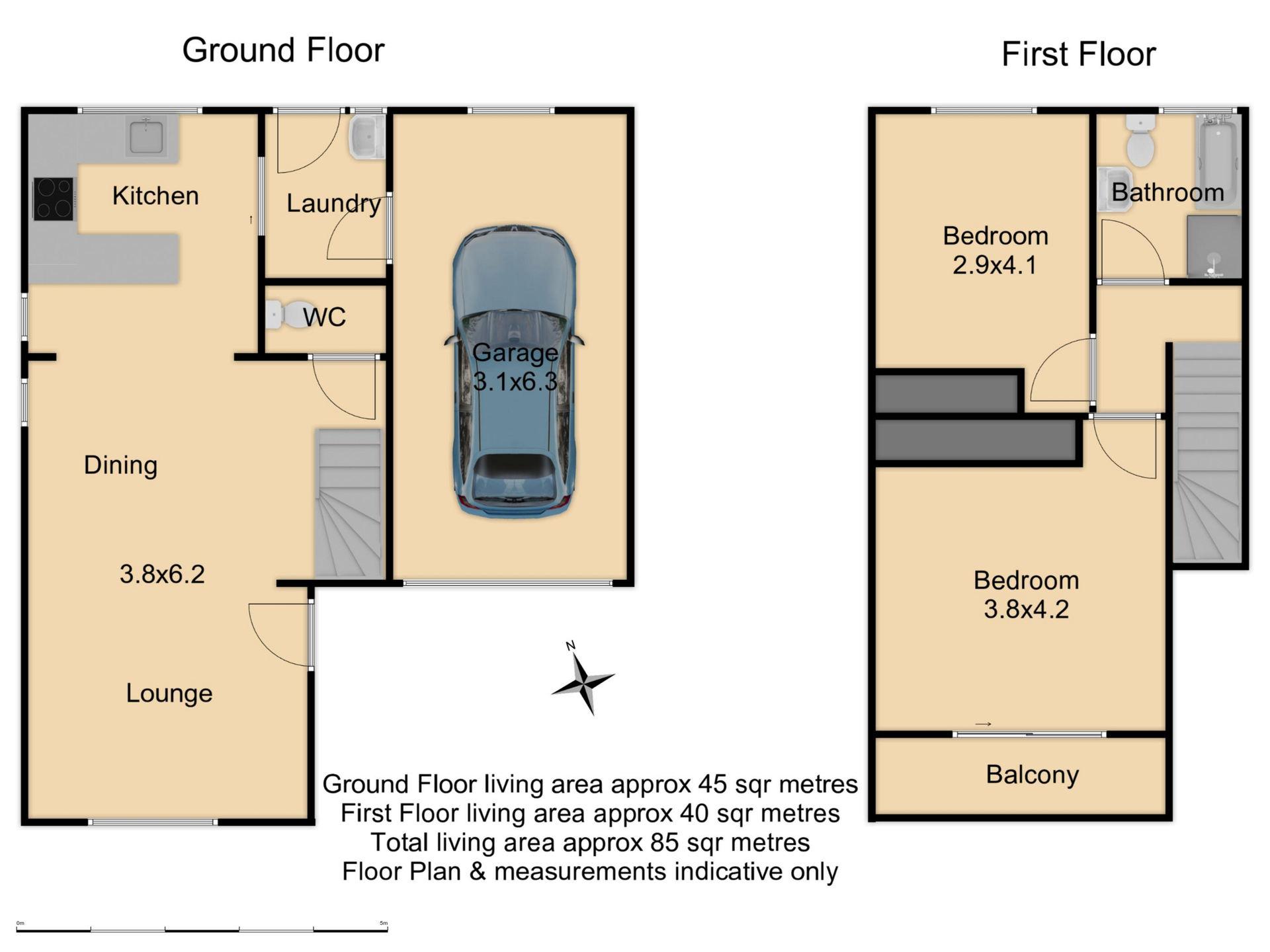 1/67 Kenna Street - Floor Plan