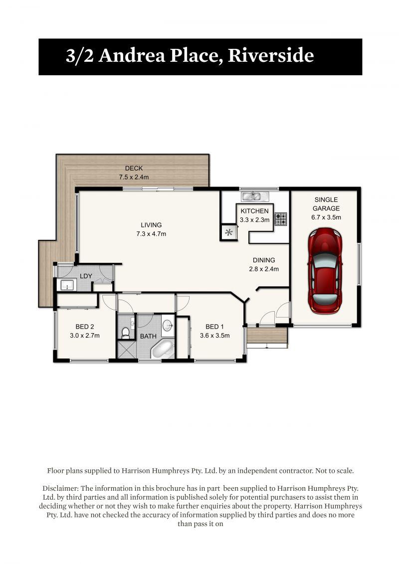 2 Andrea Place Floorplan
