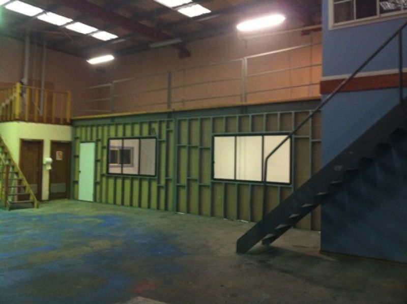 SECURE FACTORY WAREHOUSE WITH OFFICE