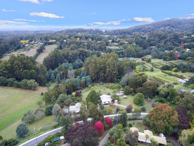 Unique 9 acre property in a peaceful valley on the NE slopes of the Dandenongs within1 hour of Melb CBD
