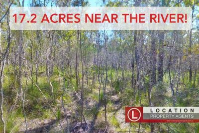 LARGE 17.2 ACRE BLOCK NEAR THE RIVER!
