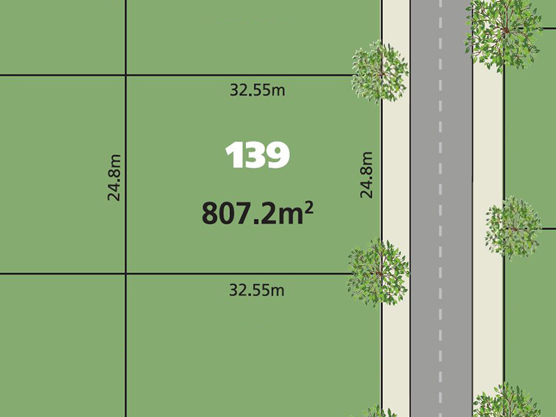 Glenmore Park Lot 139  Proposed Road