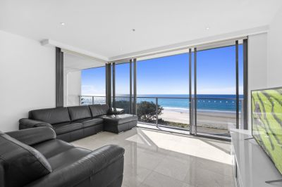 Beachfront furnished