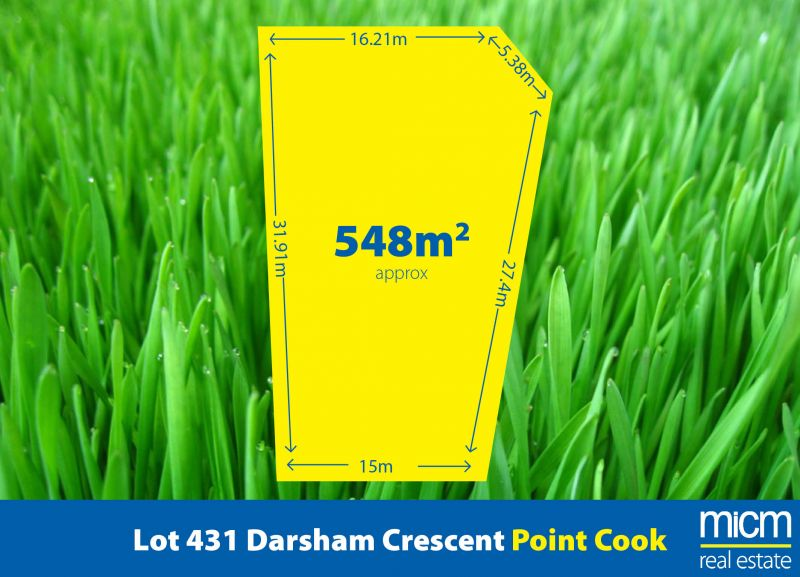 549 sqm (approx.) of Peaceful Point Cook Living