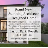Brand New Architect-Designed Home