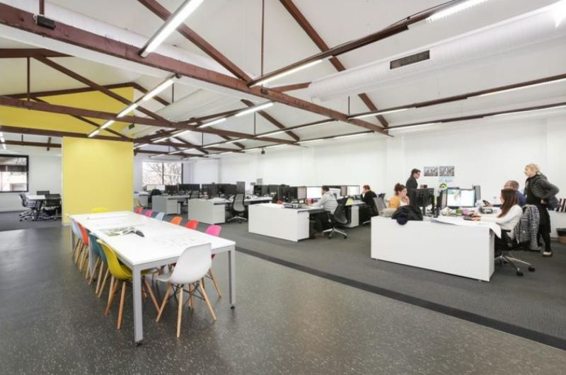 Creative Office with Warehouse Vibe