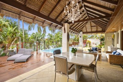 Private Balinese Style EXECUTIVE WATERFRONT HOME - furnished
